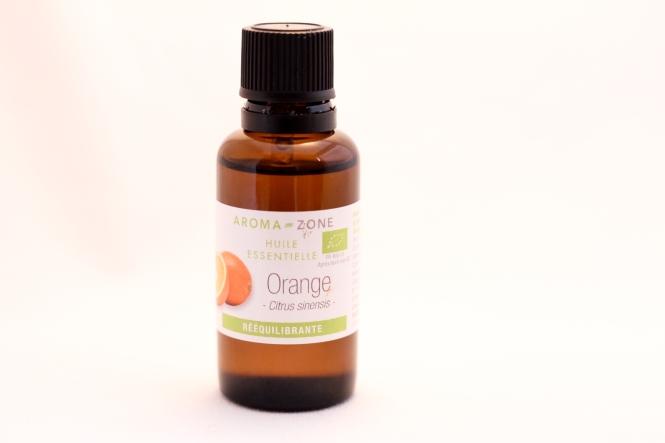 L'huile essentielle d'orange : rééquilibrante, apaisante.