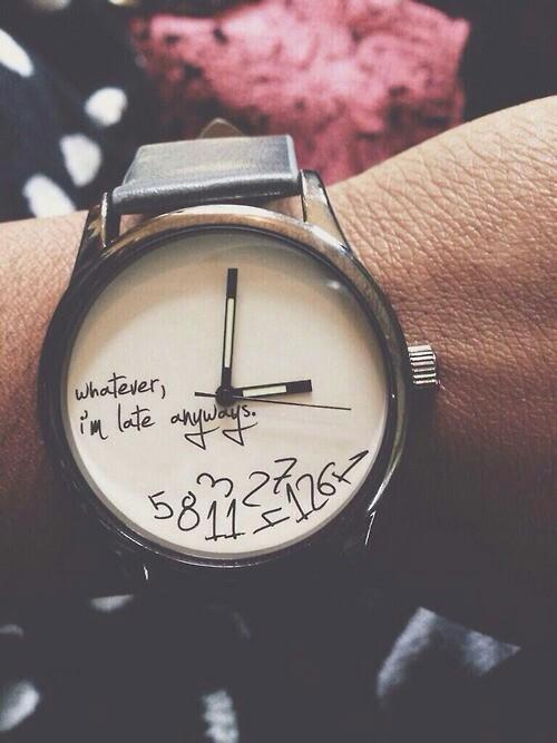 Prendre son temps.